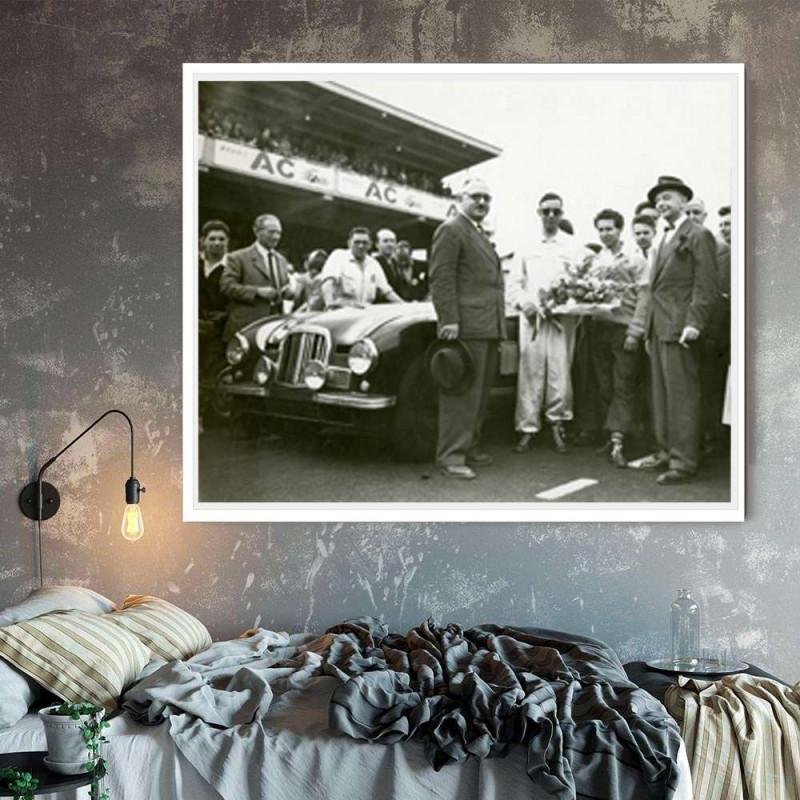 Plexi Ferrari 330 1967 80cmx30cm
