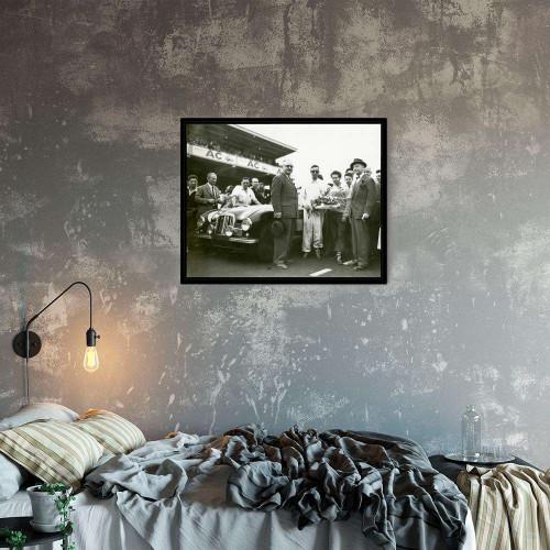Plaque Aluminium Porsche 917 1970 Psy