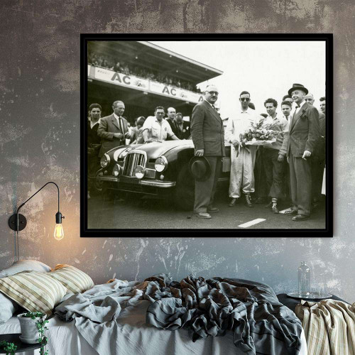 Framed Drawing Porsche 917 197 Le Mans