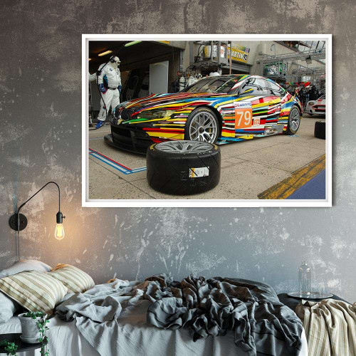 Affiche Ford Gt40 Bleu 1 1966 Affiche Unique & Limited