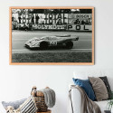 T-shirt Homme Moto Photoprint Blc Rge