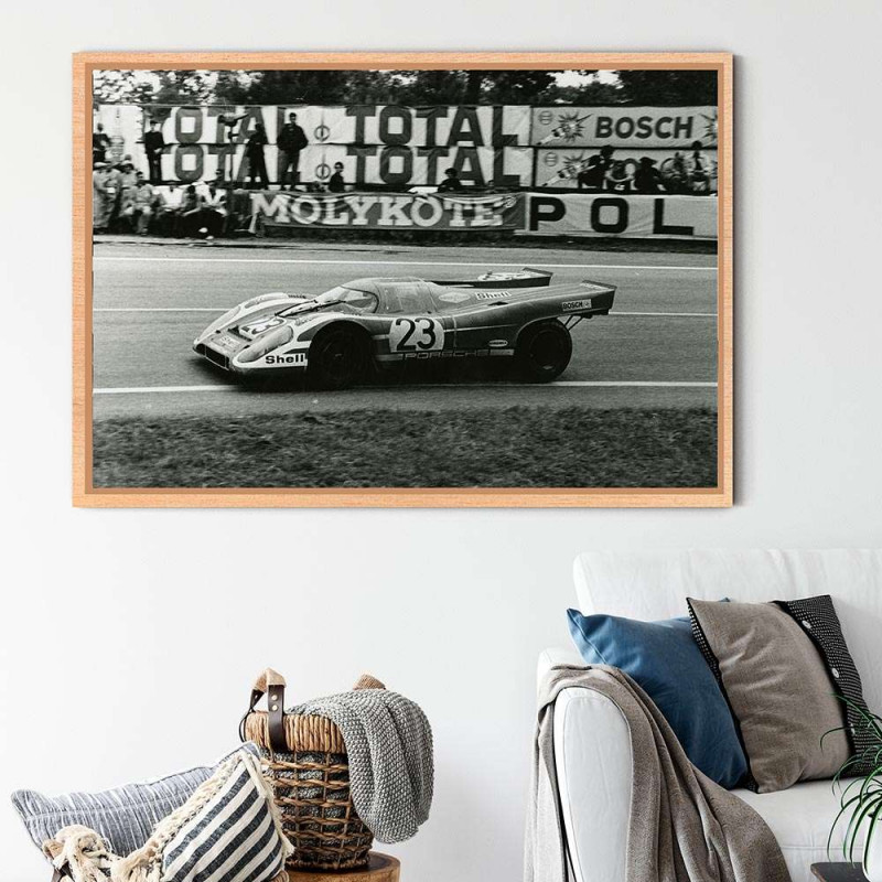 T-shirt Homme Moto Photoprint Blc Rge
