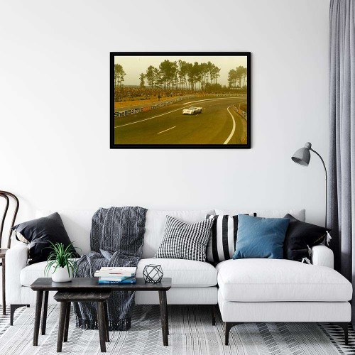 Plaque Aluminium Porsche 917 Gulf