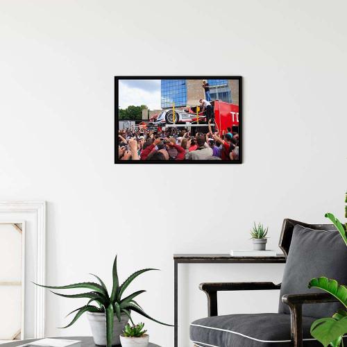 Plaque Aluminium Ferrari 250 1962