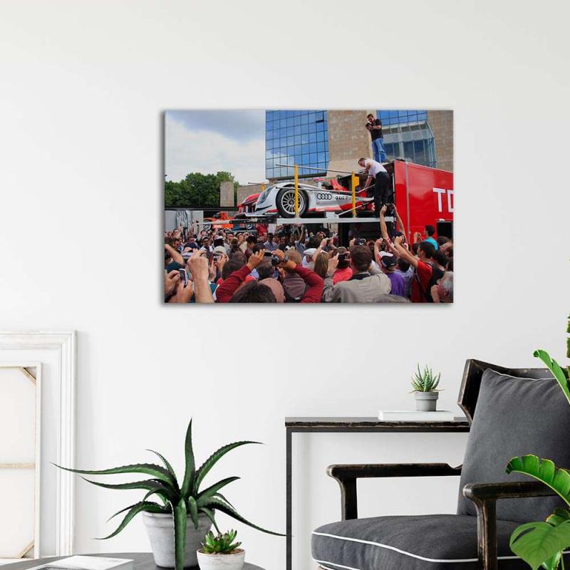 Plaque Aluminium Porsche   550 1955
