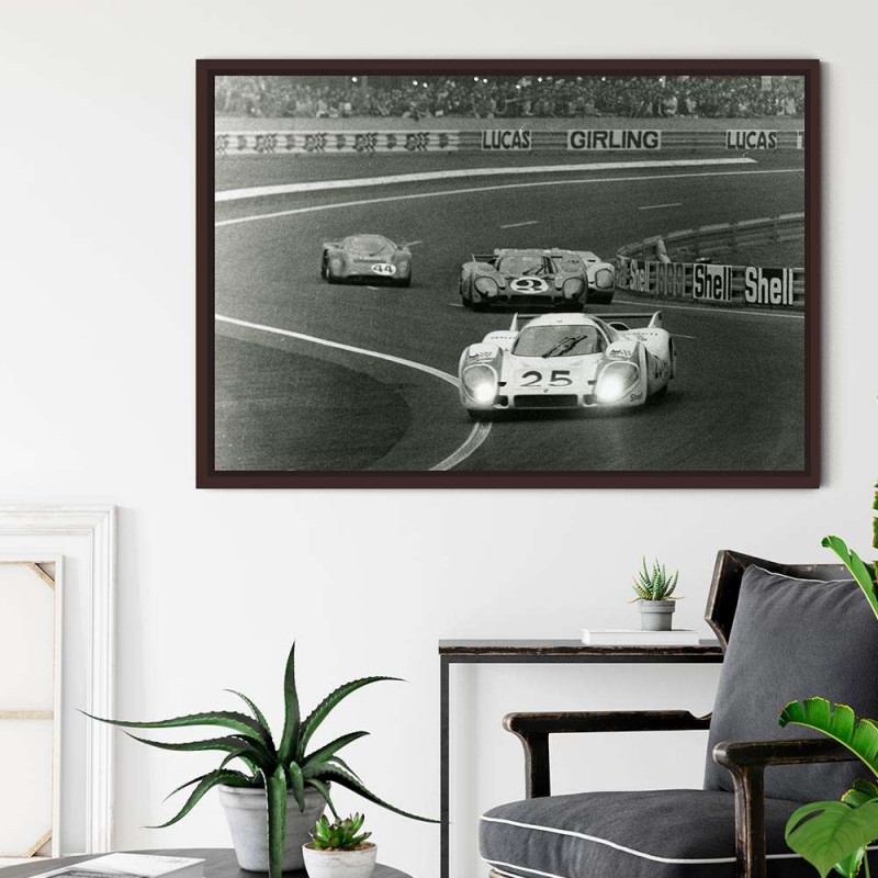 Plaque Aluminium Jaguar Type C 1951