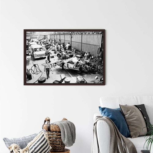 Plaque Aluminium Ferrari 330p4