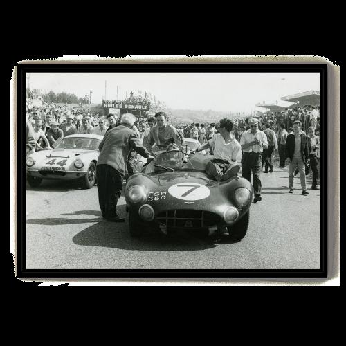 Carte Postale Mercedes 1952
