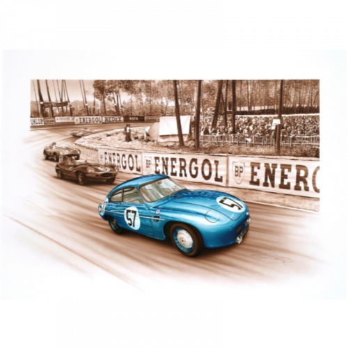 Men's Embossed Logo T-shirt Bicolour