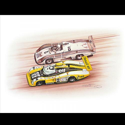 Alpine A470 Lm19/36 1/18 Lmp2