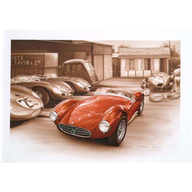 Polo Homme Racing