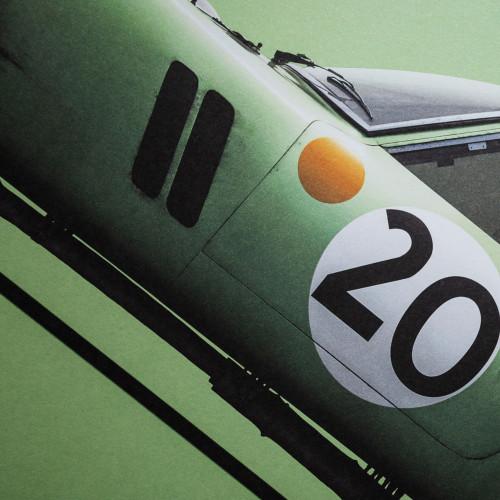 Magnet Mercedes 300sl 1952