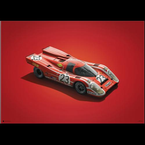 Spark 1/43 Porsche 936 4 1977